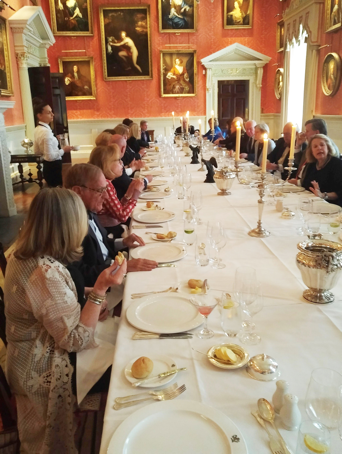 The Decorative Arts Trust Farewell dinner, Weston Park, May 2019